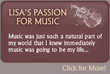 Lisa's Passion For Music